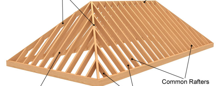 Image gallery hip roof construction for Hip roof design