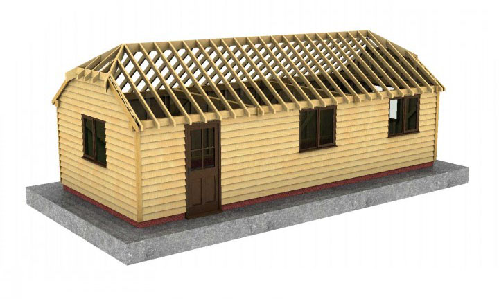 Half hip roof for Hip or gable roof