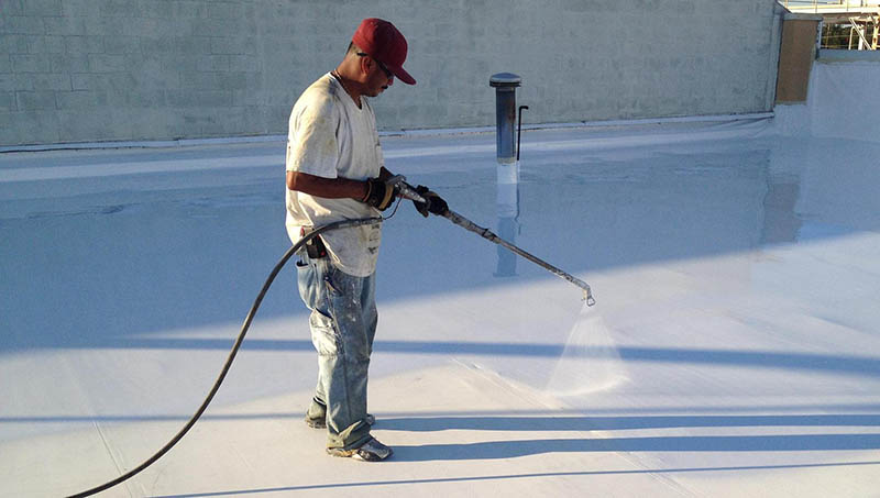 silicone-roofing