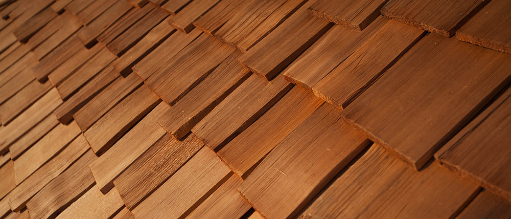 Types of shingles for What type of wood is used for roofs
