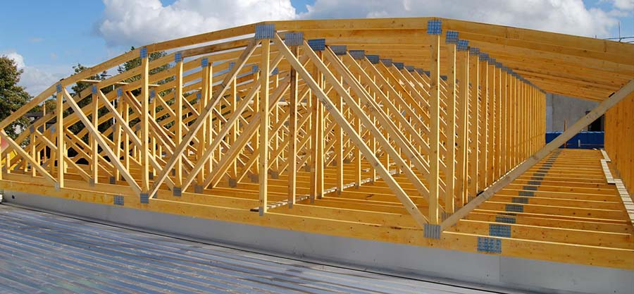 curved steel roof trusses - Metal Roof Trusses