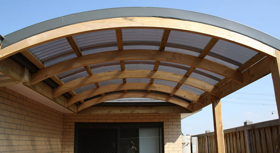 Curved Timber Roof Trusses