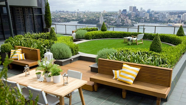 Roof Garden Design Captivating Roof Garden Design Decorating Inspiration