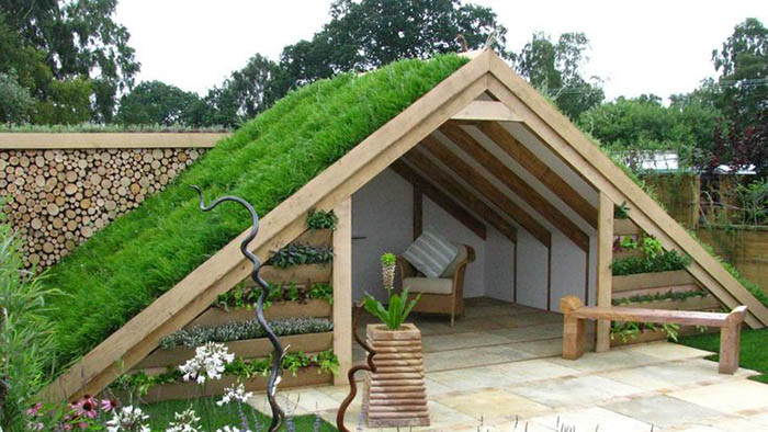 Green Roof Shed Design