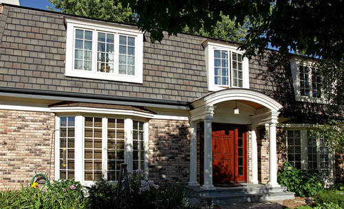 The Name Mansard Actually Means Attic Or E Inside Roof Structure Rather Than Just Shape Of