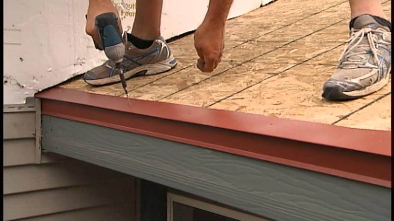 eave flashing - How To Install Roof Flashing