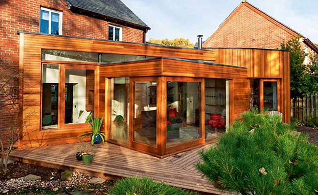 Flat roof extension design cost ideas for Cost of building a roof