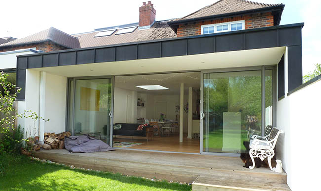 Applying Flat Roof Extension Design Ideas