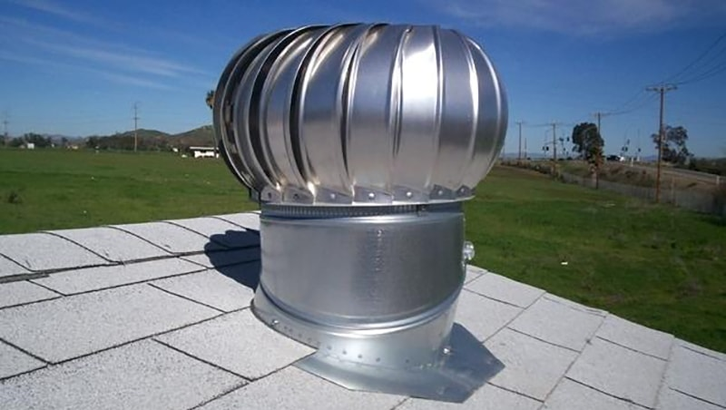 Wind Turbine Roof Vent