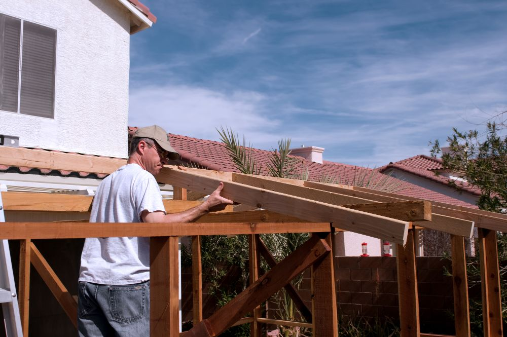 Connecting Porch Roof to a House