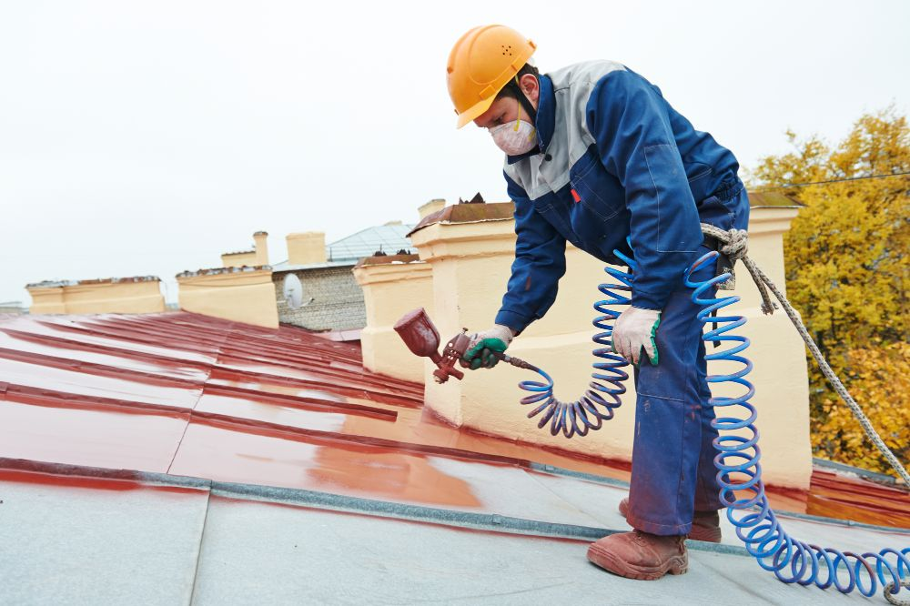 How to paint metal roofing