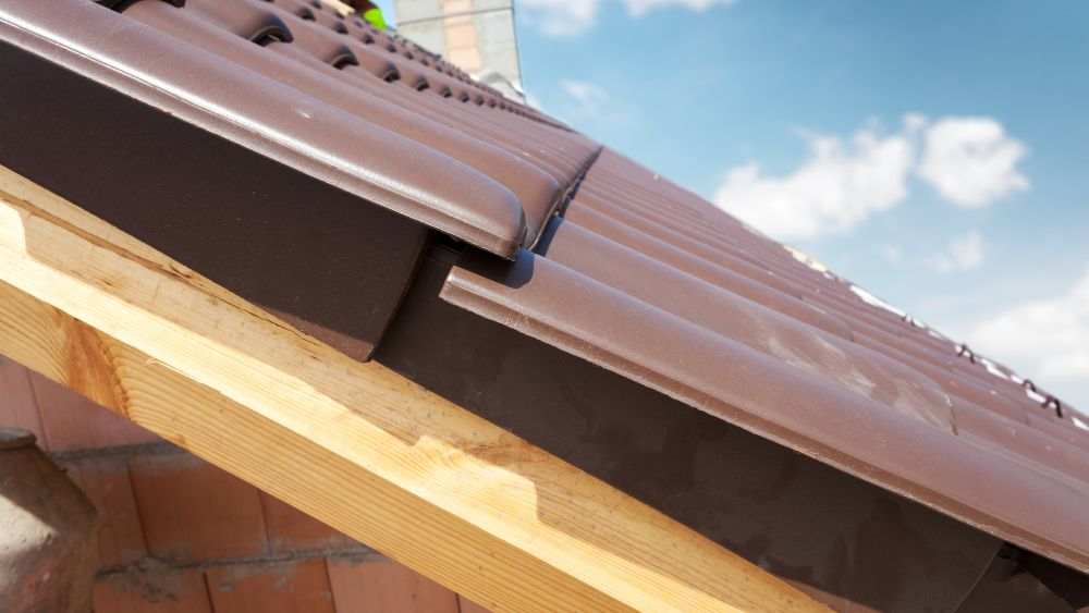 thick brown roof